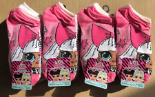 Lot of 24 Pairs NEW L.O.L Surprise No Show Socks Size M Shoe Size 10 1/2-4 Girls
