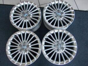 4 x orig. Audi Alufelgen 17 Zoll Nr.  8K0601025 BE