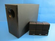 Bose Acoustimass 7 Home Theater System - Subwoofer & 3 Double Cube Speakers !!