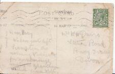 Family History Postcard - Davie - Station Road Bovey Tracey - Devon - Ref 1765A