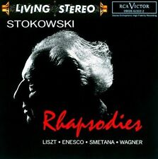 NEW Rhapsodies - Leopold Stokowski, (CD, 1993, RCA) FREE SHIPPING
