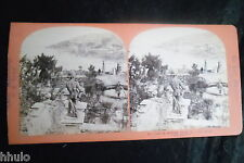 STA875 Italie du Nord Le Lac Majeur Vue de Stresa STEREO Photo stereoview