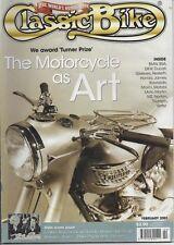 CB Feb 2001 Honda CB350 K4 Moto Martin CBX BMW R60 R75 Hesketh Greeves Motobi