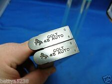 TWO Factory Colt 1911 Magazines 45 Auto Gov't Commander 7 Rd SP572491 Stainless