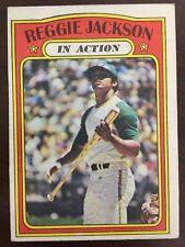 1972 Topps In Action Reggie Jackson #436