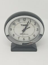Timex Vintage Travel Alarm Clock | Indiglo Night-Light Display | Battery Powered