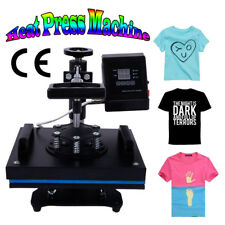 Digital Transfer Sublimation T-shirt Heat Press Machine For DIY Cool Pattern US