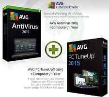 AVG Antivirus 2015 + AVG PC TuneUp ® 2015 - 1 User 1 Jahr | Lizenzschlüssel nur