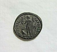 LICINIUS I, 308-324 AD. BRONZE FOLLIS, ANTIOCH MINT. JUPITER REVERSE.
