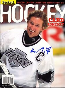 WAYNE GRETZKY AUTOGRAPHED Hand SIGNED 1998 Beckett Hockey MAGAZINE KINGS w/COA