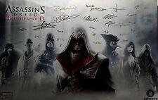 Assassin's Creed Brotherhood Exclusive Pre-Order Bonus Autographed Poster