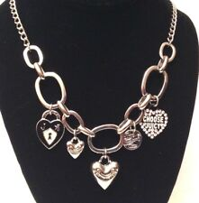 """Juicy Couture Multi Charm Necklace 25"""""""