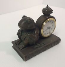 Decorative Frog Clock, Fairytale Clock, Very Good Condition, Working