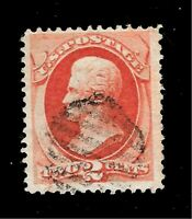US 1879 Sc# 178 2c JACKSON  USED(*Unique Dated) - Crisp Color