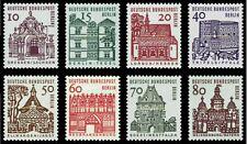 EBS Berlin 1964-5 12 Centuries German Architecture (I) Michel 242-249 MNH**