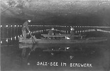 B92875 salz see im bergwerk berchtesgaden  germany