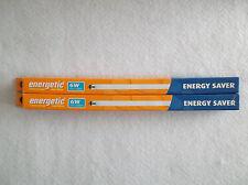 Cantidad de 2! 6W T5 lámparas fluorescentes enérgico Blanco Frío Ahorrador De Energía Nuevo, Sin Usar