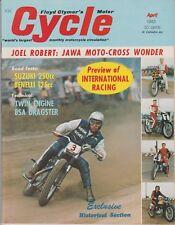 Cycle Magazine  April 1965 Craig Breedlove, Suzuki  250cc, Twin Engine BSA, JAWA