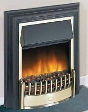 Dimplex Cheriton LED Black Electric Fire 2kw c/w Coal Effect & Remote Control