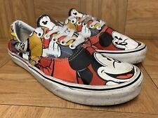 RARE🔥 VANS x Disney ERA Mickey Mouse & Friends Shoes Sz 11 Pluto Donald Goofy
