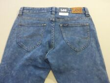 098 WOMENS NWT LEE MID LICKS BLUE TRUTH STRETCH JEANS SZE 12 $160 RRP.