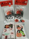 Vtg 70s 80s NOS 160 Halloween Trick Or Treat Candy Bags Ghost Ghoul Cat Pumpkin