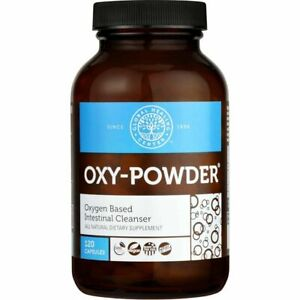 Oxy-Powder Colon Cleanser & Natural Laxative Constipation Relief Pills 120 02/23