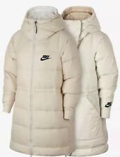 W Nike Sportswear Down Reversible Jacket Phantom/Igloo-Black Sz.L (939434-030)