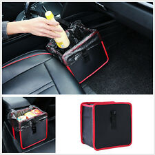 Auto Car Trash Bag Litter LeakProof Bin Wastebasket Holder Container Storage Box