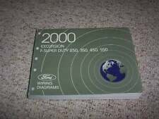2000 Ford Excursion Electrical Wiring Diagram Manual XLT Limited 5.4L 7.3L 6.8L