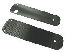 ESTRIBO Plataforma de pie Encías Reposapiés Patadas Cubierta Negro Adecuado F