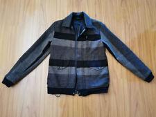 FILSON Grey Black Wool Jacket sz XS (made in USA)