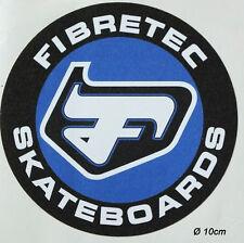 Fibretec Skateboard Longboard Freeride Aufkleber Sticker Adesivo (S118)