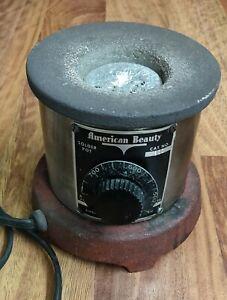 Vintage American Beauty Industrial Solder Pot Model 300 -  Tested!