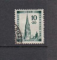 Französische Zone Baden Mi-Nr. 39 A gestempelt - Mi. 50,-