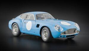 CMC M-140 Aston Martin DB4 GT Zagato Blue 1:18 Diecast Car NEW - AUTH DEALER