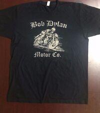 Bob Dylan Motor Co. Official 2010 Tour T-Shirt