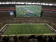 4 Midfield Tickets Dallas Cowboys vs Philadelphia Eagles 12/27