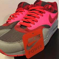 Nike Air Max 1 ID Sz 11 CLOT Inspired Powerwall kid robot Red Pink Silver NSW QS