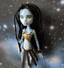 Monster high ooak  repaint custom doll Avatar