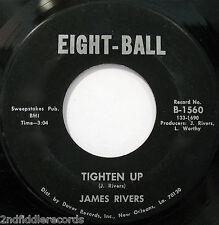 JAMES RIVERS-Tighten Up+Bird Brain-Mod Soul Funk Instrumental 45-EIGHT BALL 1560
