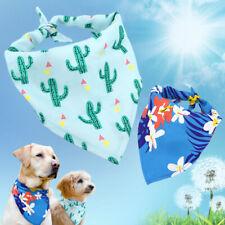 Soft Dog Neckerchief Bandana Collar Adjustable Doggy Neck Scarf Triangle Bibs