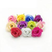 mode florale diy - handwerk schön künstliche rose fake. blumenköpfe hochzeit.