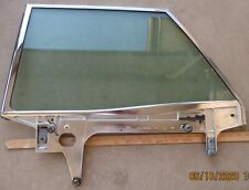 1967 Ford Galaxie Mercury Monterey HT L rear door window glass channel 67 tinted