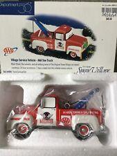 Dept 56 Snow Village® Village Service Vehicle - Aaa Tow Truck - Brand New