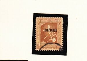 """US - PHILIPPINES STAMP WITH """"OFFICIAL"""" OVERPRINT - J"""