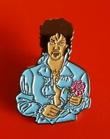 Prince Pin Purple Rain Music Enamel Retro Metal Brooch Badge Lapel