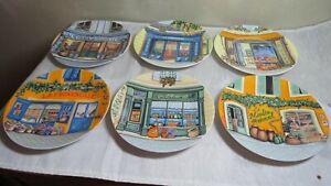 Limoges Cadeaux Vintage Snack Set