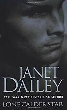 Lone Calder Star Paperback Janet Dailey