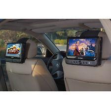 Car Headrest Mount for SYLVANIA SDVD9805 Portable DVD Player - 2 Pieces
